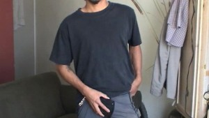 straight latino guy with a big uncut cock