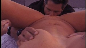 Hot blonde gets her ass reamed by her man