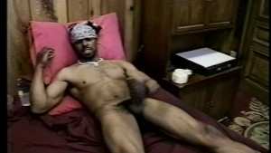 A hot hairy dick to shake and pull