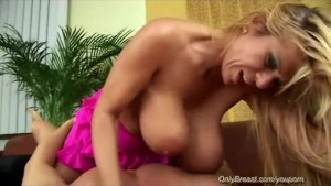 hot big natural breast MILF
