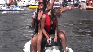 Crazy Party Girl Home Video on the Lake pt 2