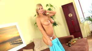 Gorgeous blonde Carol XXX