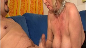 Busty Old German Titty Fucks Dude - Videorama