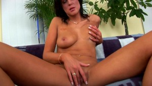 Miranda alone with a dildo - CzechSuperStars