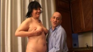 Old Italian couple does porn - OVER C