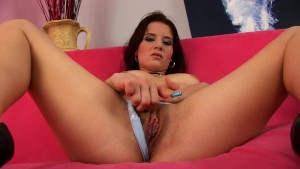 Silke uses a dildo on herself - CzechSuperStars