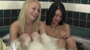 Super Hot Roommates Taking a Bath Part 1