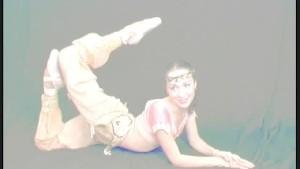 Two flexi ballerinas posing for flexiangels