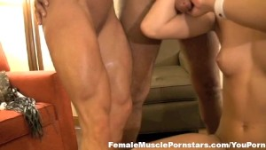 Two Blondes and a Big Black Cock