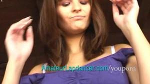 Hairdresser like a lapdancer