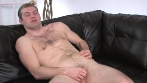 Ultra small cock on the leather bedstead