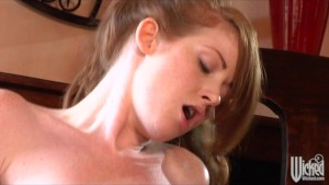 Shy & horny young Big-tit Teen redhead schoolgirl fucks big-dick