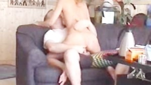 Blonde amateur girlfriend sucks and fucks at home