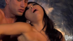 Passionate Asian babe Asa Akira fucks her man