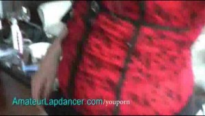 Gothic teens lapdance and play with cock
