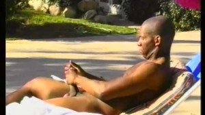 Jacking off next to the pool - Pacific Sun Entertainment