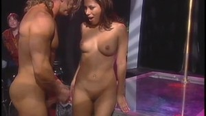 Dirty Jenny rides it hard on the floor - X-Traordinary Pictures