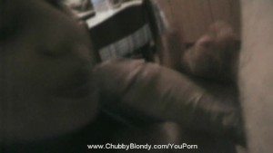 Blowjob In Kitchen With Blondy