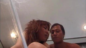 Big tit Asian milf rides cock like crazy