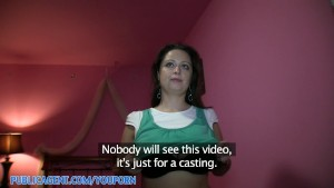 PublicAgent HD Huge Boob Sirale Falling for the Fake Movie Role