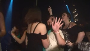 Nightclub dancing and flashing - DreamGirls