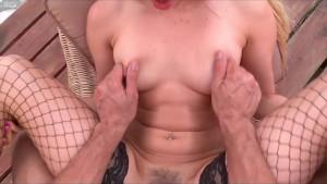 Hot Pornstar Aleska Diamond gets fucked at Saboom