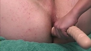 Big dildo in my virgin ass! - CUSTOM BOYS