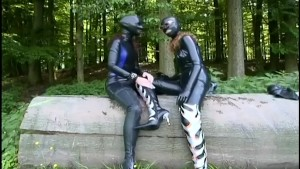 Babes In Gimp Suits Play Outside - Absurdum Productions