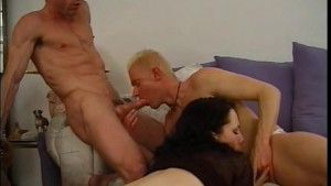 She needs two cocks, and he s cool with it - Legend