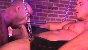 Rough fuck for a hot muscular guy on the swing - Factory Video Productions