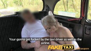 FakeTaxi Hot blonde tourist in first time blowjob
