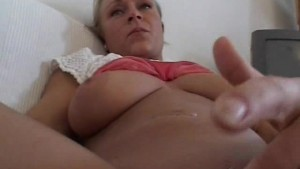 Busty amateur girlfriend sucks and fucks