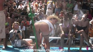 Wet Bikini Booty Shake Real Wild Contest