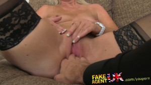 FakeAgentUK Mature MILF wants young stud cock on demand