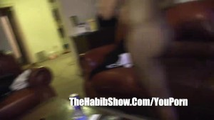 Black Pussy Banged and fucked in her tight pink pussy n boots