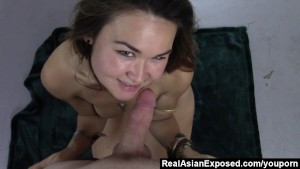 Tricking Asian Into Fucking On Cam