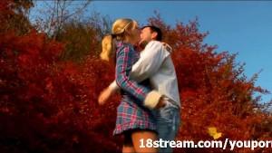 Unforgettable autumn sex