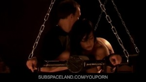Slave girl is kinky fucked in the basement