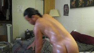 SWOLL COCK FAT SACK MAN KNOWS HOW TO WORK IT