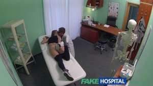 FakeHospital Doctor creampies hot athletic student with amazing body
