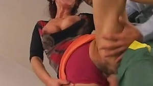 Diana Faucet aka Jaroslava fucked by young repairman troia