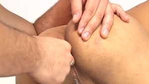 Latino hunk claims this twink s tight hole - ROBERT HILL