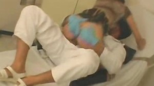 Hot Patient Babe And Masked Nurse Sex