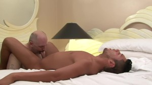 Bear fucking latin twink - Factory Video