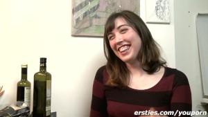 Sweet US Student Fiona hitting Berlin !