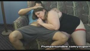 BBW Jen Gets Her Hairy Pussy Fucked
