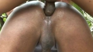 Cum On Gay s Back After Hot Beefy Anal Sex