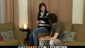 A gay surprise for this boy