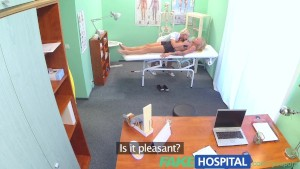 FakeHospital Claustrophobic sexy russian blonde seems to love gorgeous nurses tight confined spaces