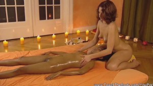 Brunettes teach Exotic Massage